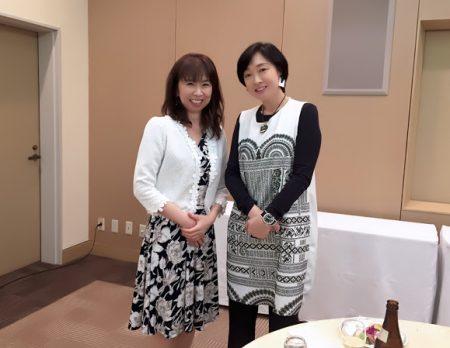 女優の川上麻衣子さんとトークショー